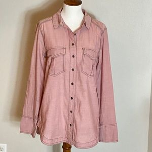 Free People Tops - Free People | Lightweight Oversized Button Down